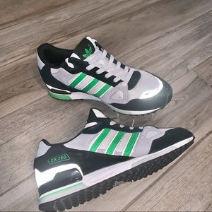 ADIDAS Green and Grey ZX 750